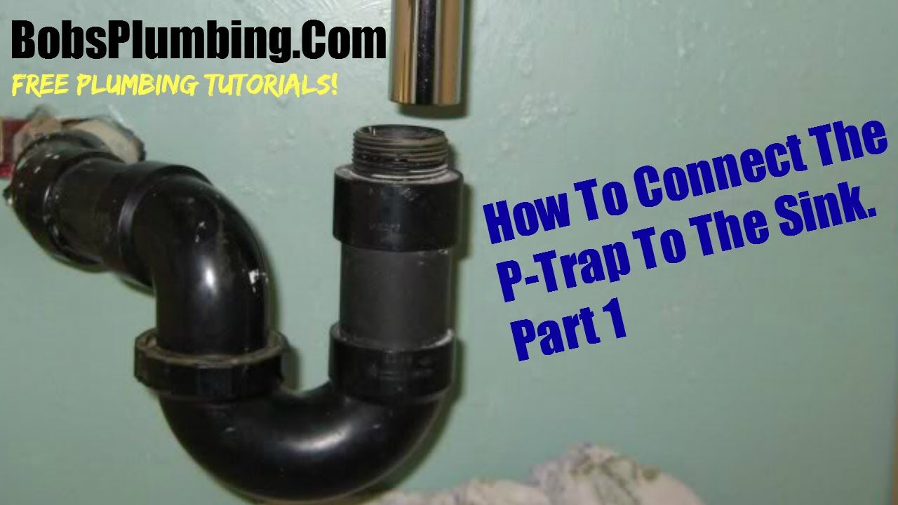 Connect your kitchen sink part #1 | BobsPlumbingVideos.Com | Pinterest