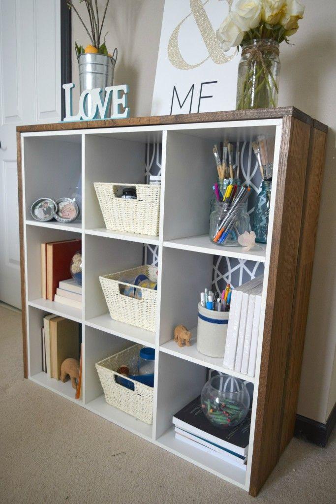 Exceptional Custom Craft Supply Storage Cubby