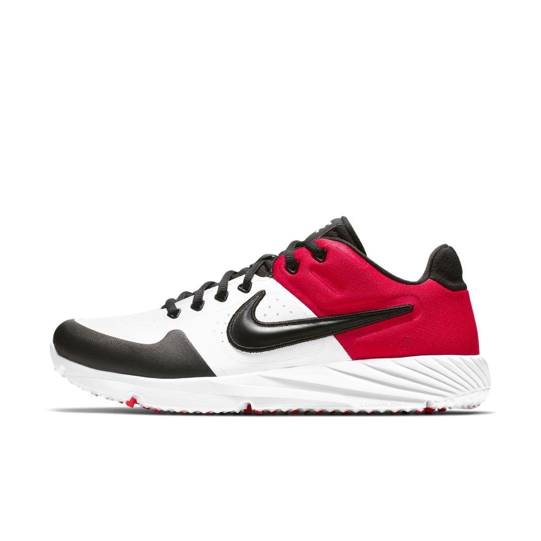 timeless design 87bad a367d Nike Alpha Huarache Elite 2 Turf Baseball Cleat Size 11.5 (White)