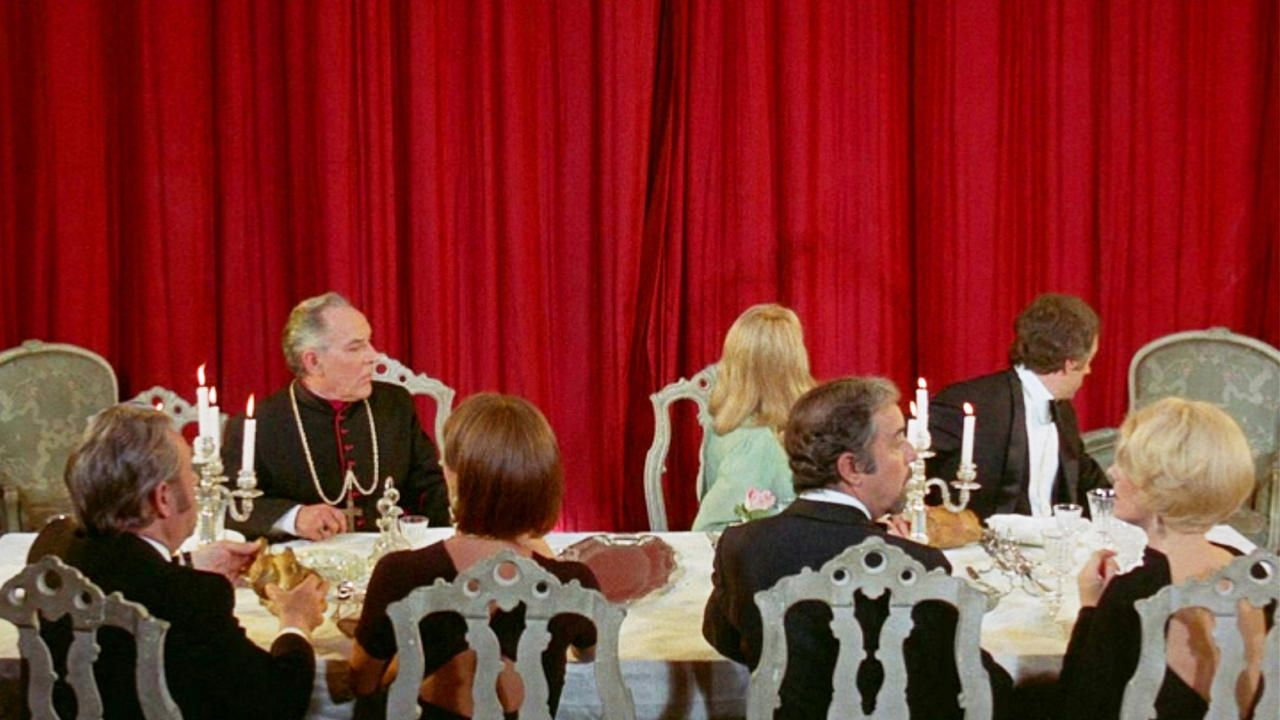 THE DISCREET CHARM OF THE BOURGEOISIE directed by LUIS BUÑUEL ...