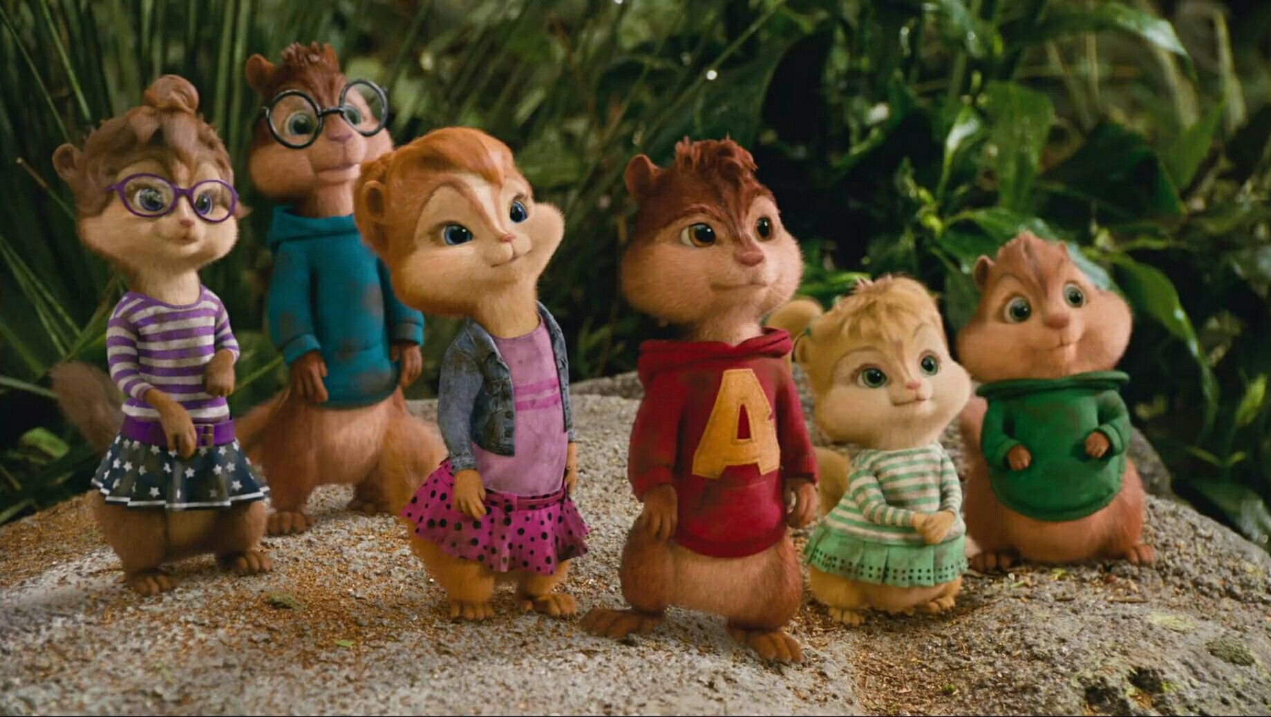The Chipmunks And The Chipettes Alvin And The Chipmunks C