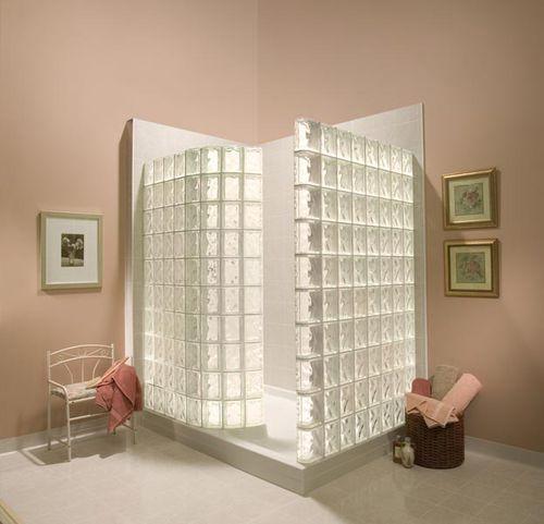 Brique de verre structurée   sur mesure Pittsburgh Corning salle