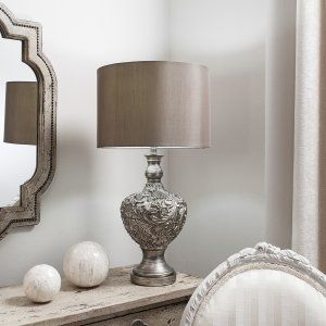 Lighting Table Lamps Living Room Table Lamp Silver Table Lamps