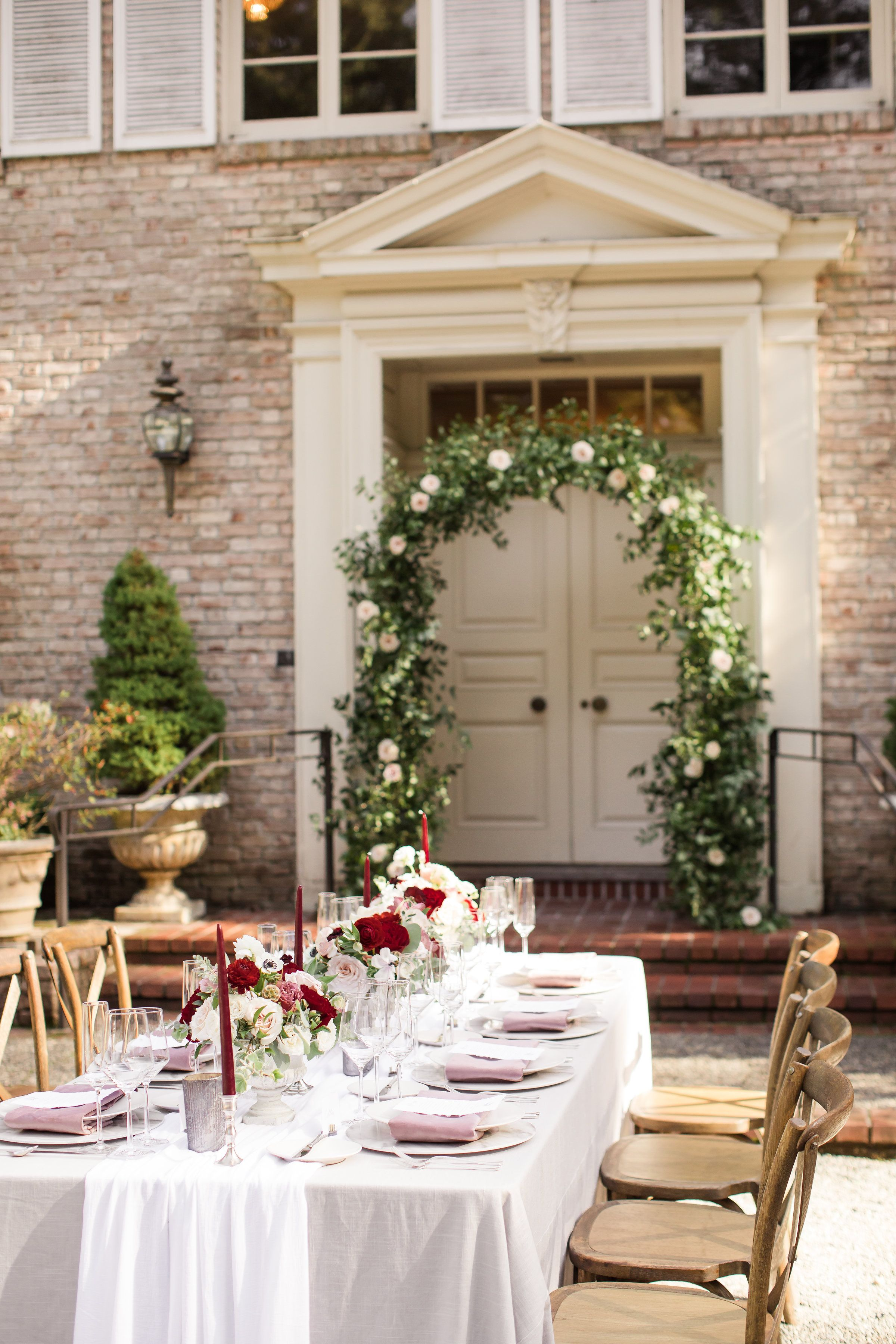 Floral/Design: EVENTful Moments Photo by: Lloyd Photographers Blush ...