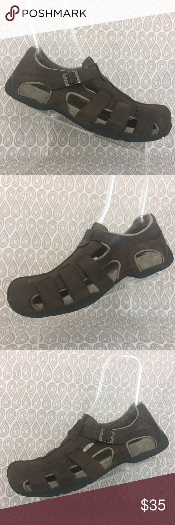 d9c99b050054 TEVA Cardenas Men s Fisherman Sandals Size 14 S276 cleaned and sanitized  scuffs on uppers dirty insoles