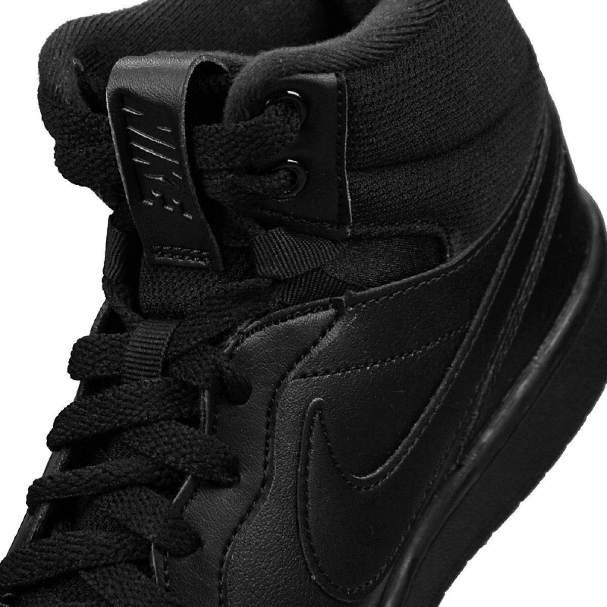 Buty Nike Court Borough Mid 2 Boot Gs Jr Bq5440 001 Czarne Nike Shoes Women Boots Nike