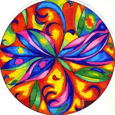 mandalas coloreados  Buscar con Google   mandalas  Pinterest
