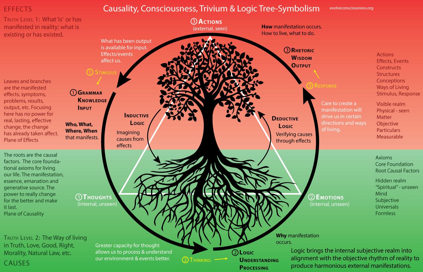 Circle of life causality consciousness trivium and logic tree circle of life causality consciousness trivium and logic tree symbolism http buycottarizona