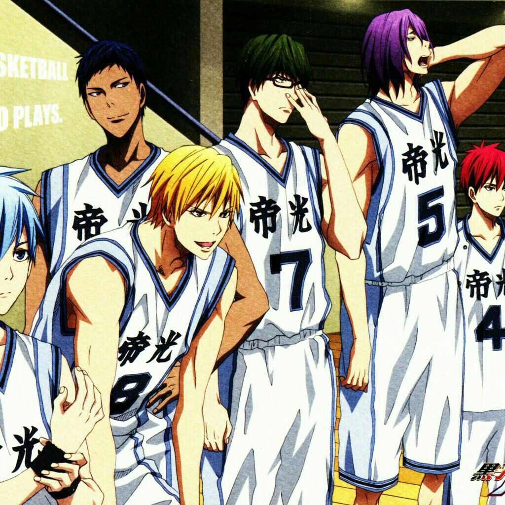 The generation of Miracles Kuroko no basket 농구