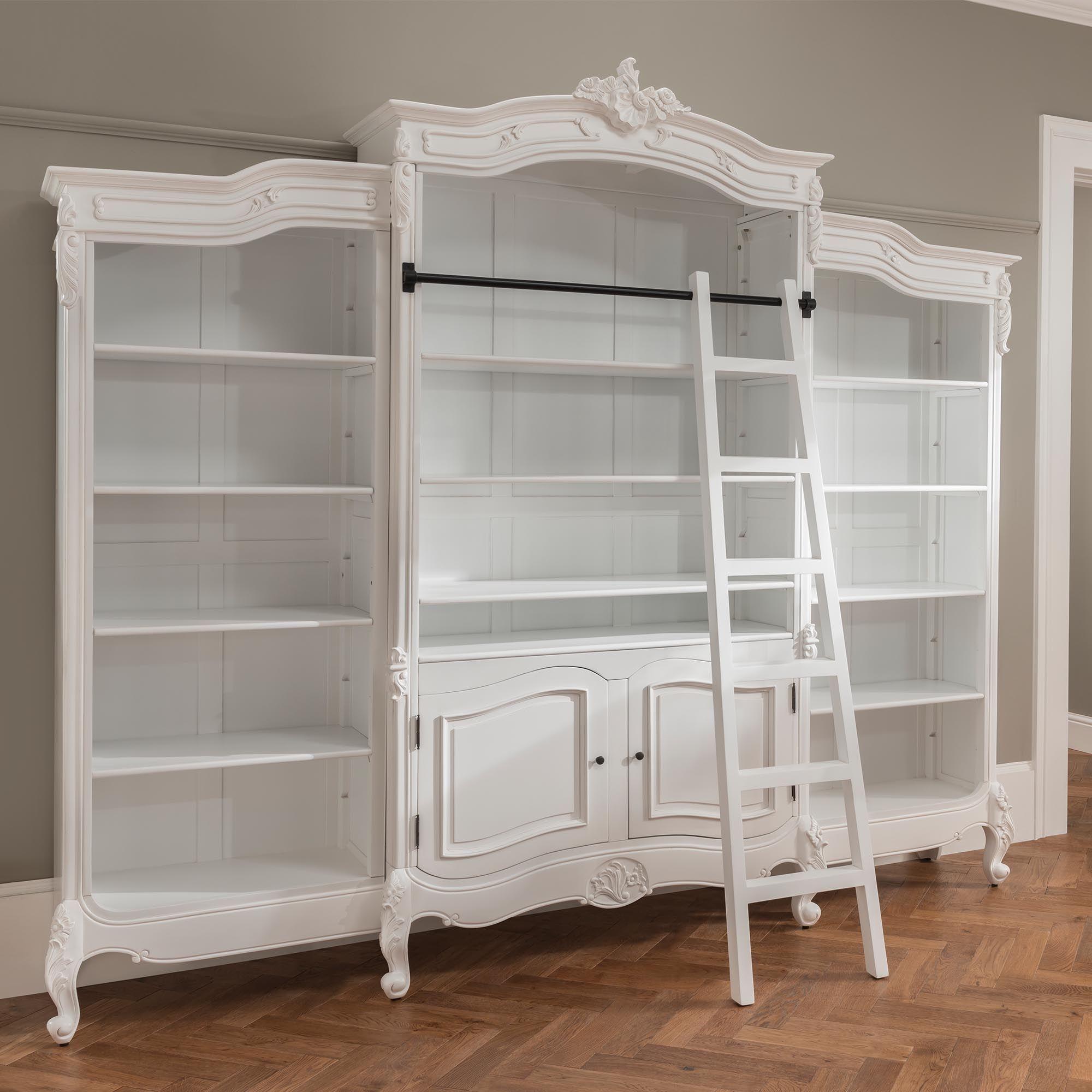Antique French Style Bookcase Ev Icin Kitaplik Furniture