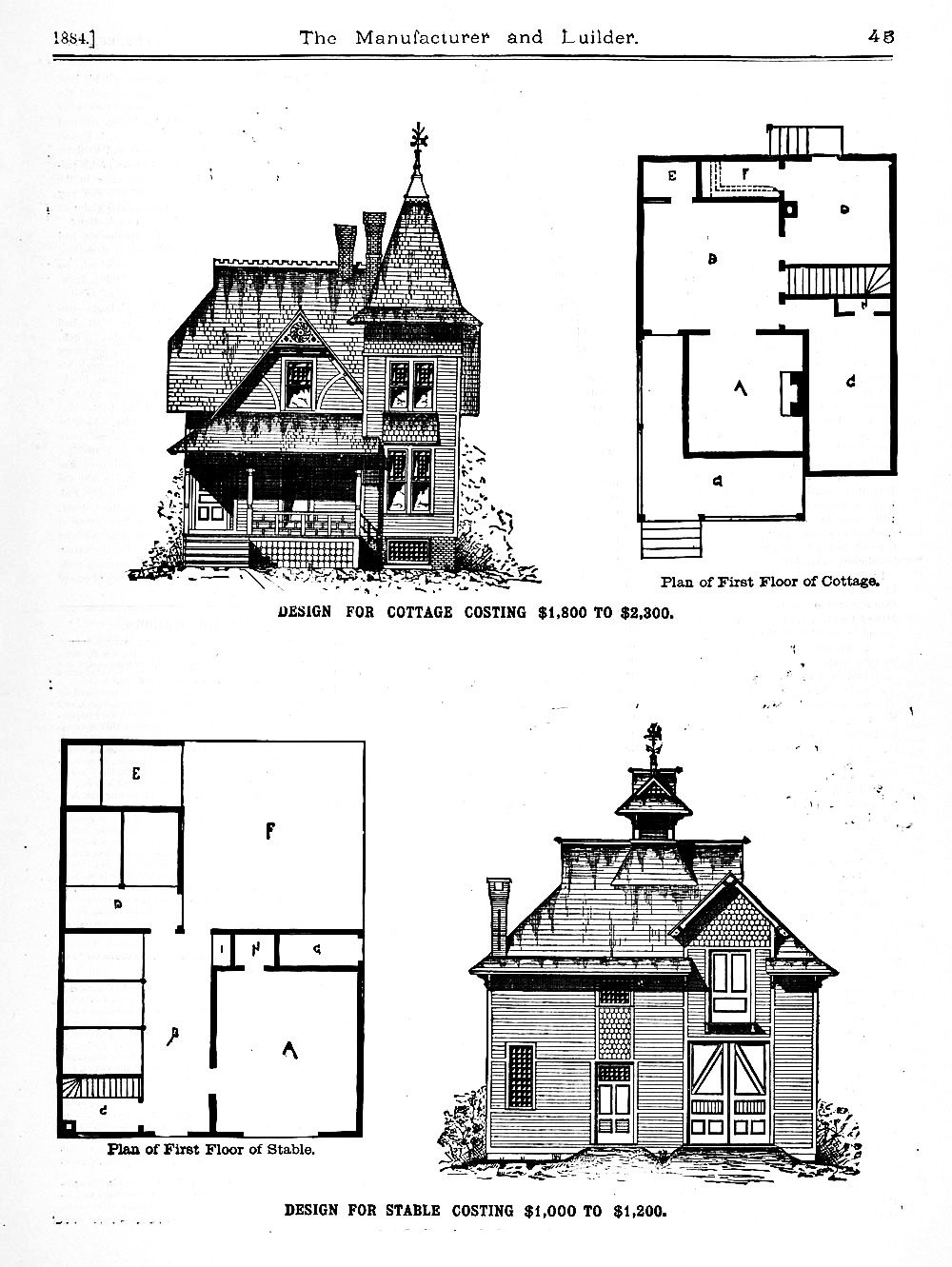 Vintage Cottage Barn Floor Plans With Stable Carriage House Carriage House Plans Carriage House House Plans