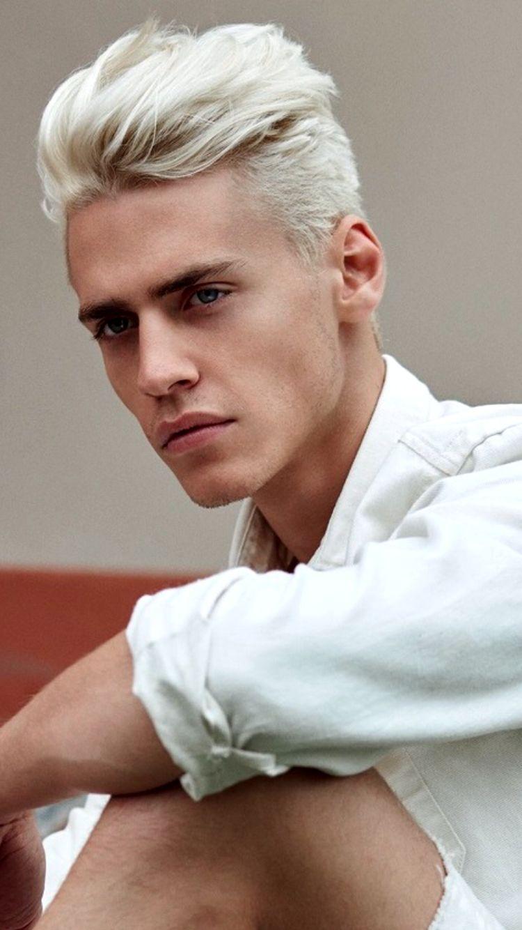 blond blaue augen mann