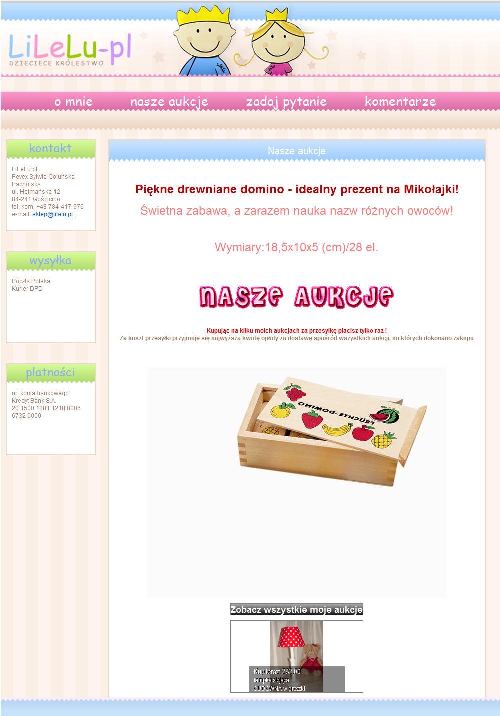 Allegro Ebay Template Ebay Templates Templates Ebay