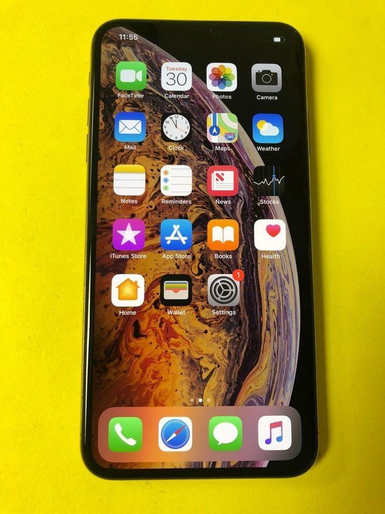 Apple Iphone Xs Max 256gb Gold Verizon Unlocked Great Condition Apple Iphone Apple Iphone Accessories Iphone