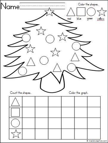 pin by jill demille on christmas in the classroom hojas de trabajo preescolar navidad. Black Bedroom Furniture Sets. Home Design Ideas