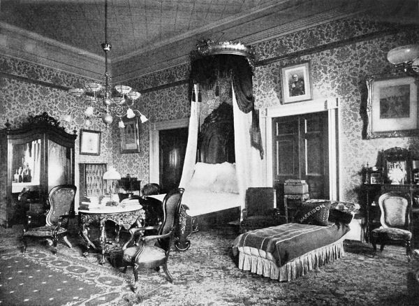 State Bedroom Circa 1892 White House Victorian