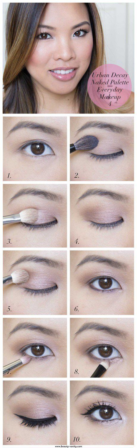 & Easy Makeup Tutorials For Brown Eyes Everyday