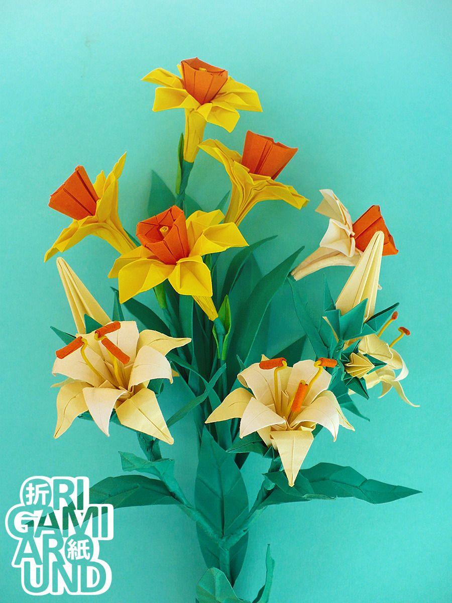 Httporigamiaroundtumblrpost165684821978origami Flower