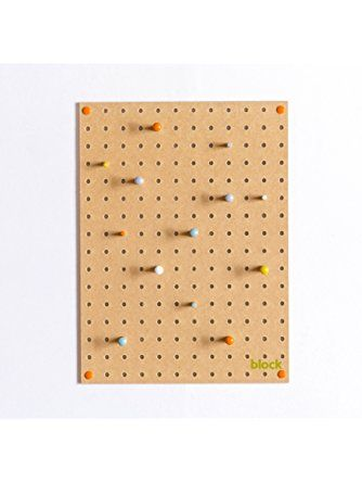 Pegboard with Wooden Pegs, Small   25+ Best Ideas About Wall key ...