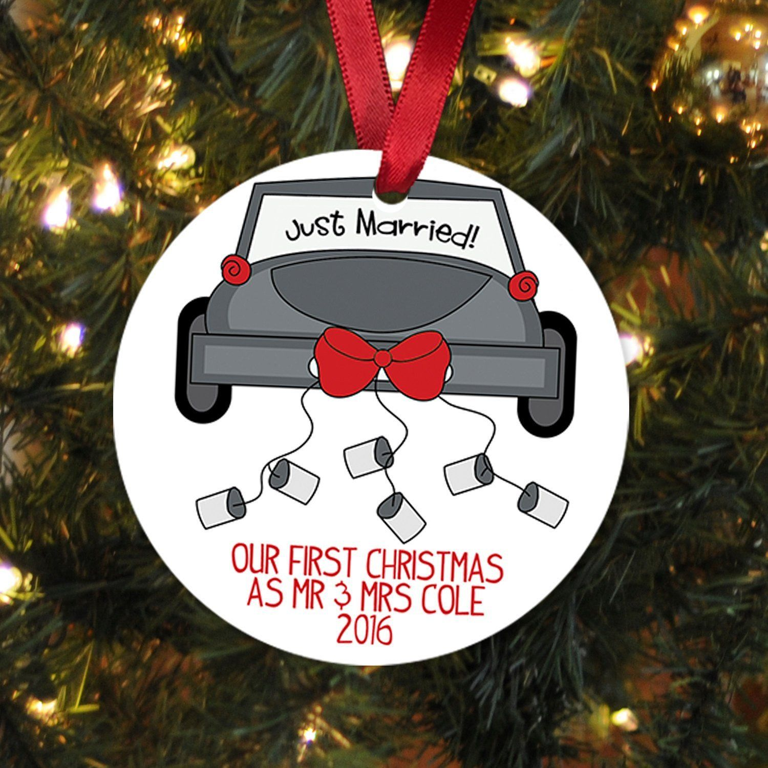 Our First Christmas Ornament  Personalized Christmas Ornament