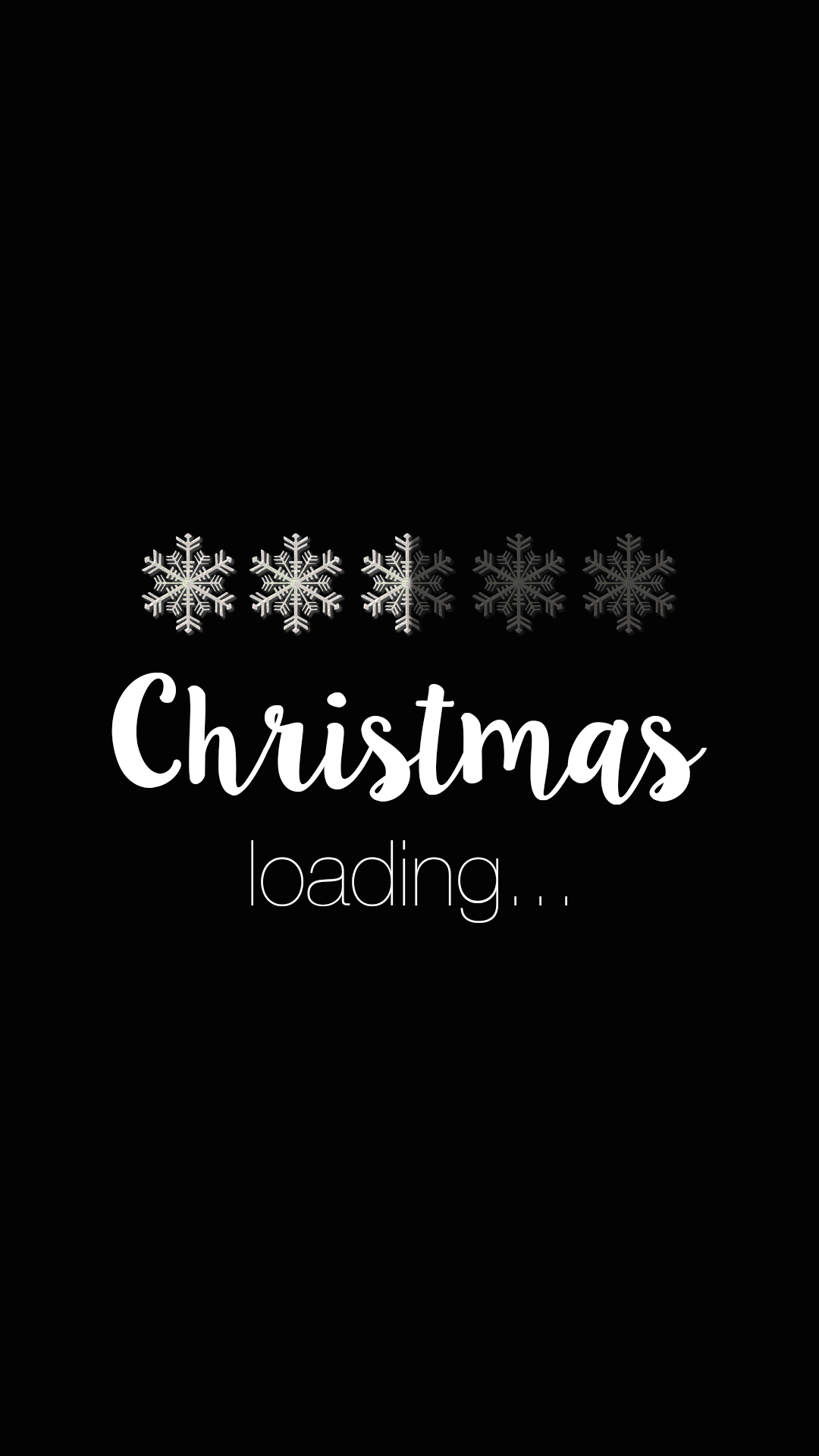 Christmas Is Loading Wallpaper Background Lock Screen For Android Cellphone Iphone Christmaswallpaperiphone Dengan Gambar Kutipan