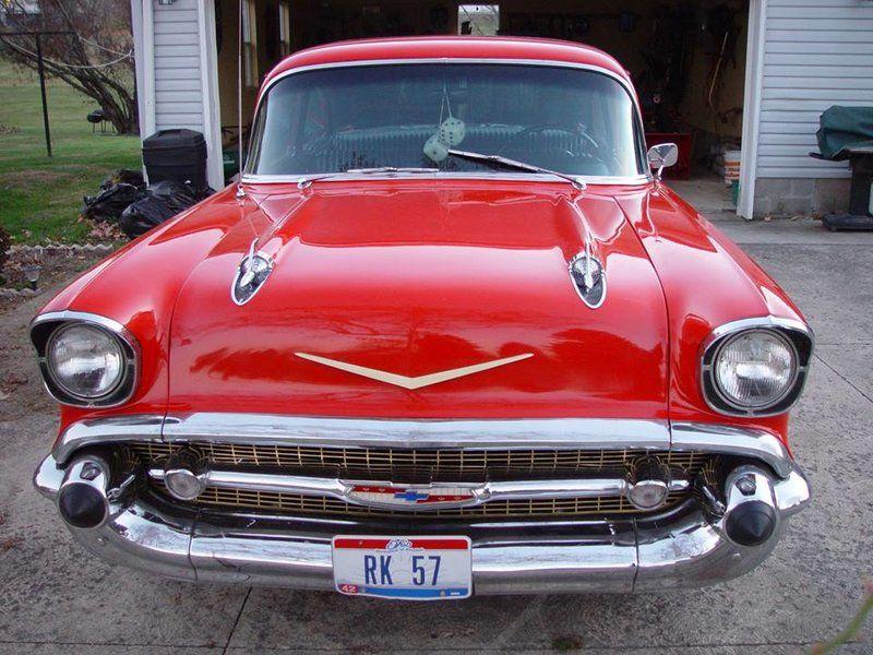 1957 Chevrolet Bel Air for sale - Mt Vernon, OH | OldCarOnline.com ...