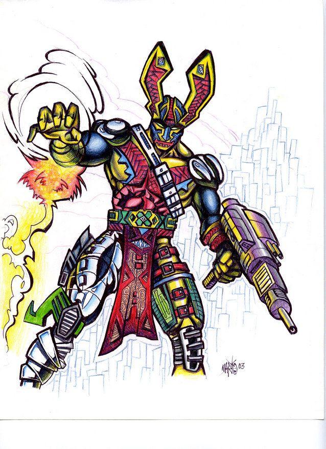 Some Game Hero Character by mazedicer.deviantart.com on @deviantART