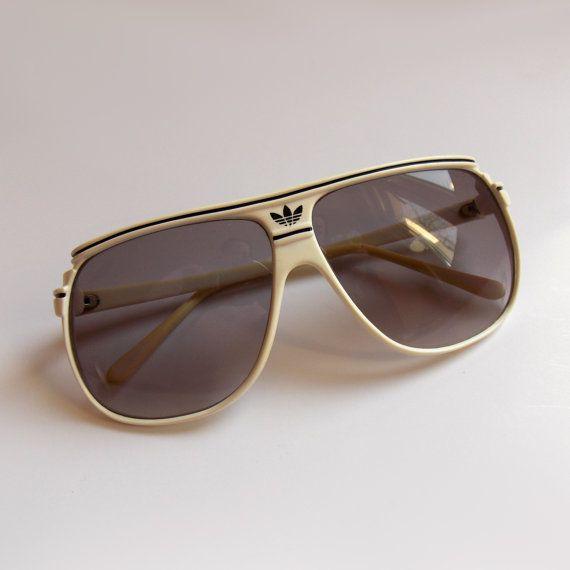 ffeb493804 Vintage Adidas Sunglasses Retro sunglasses Rare White UV protection ...