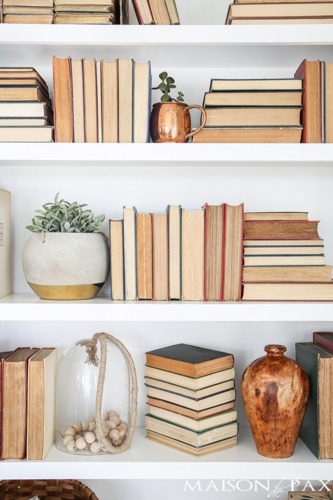 Deko Ideen · Styling Bookcases Can Be Tough, But Try These Easy Tips To  Help You Style Your