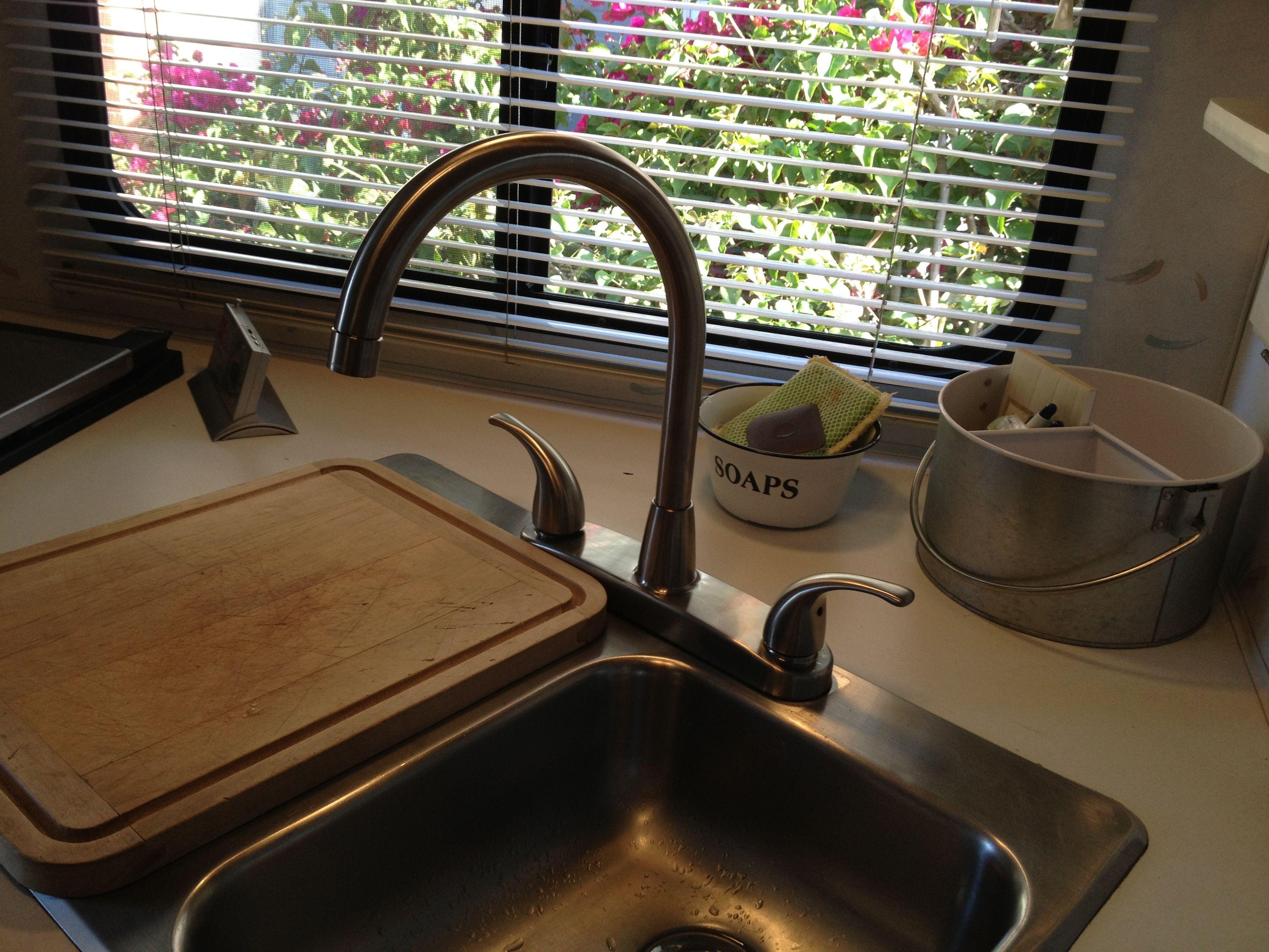 New Sink Faucet In My Lance Camper Lance Camper