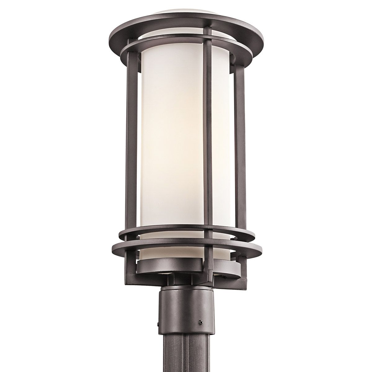 Kichler lighting 49349az pacific edge bronze outdoor post light mozeypictures Image collections