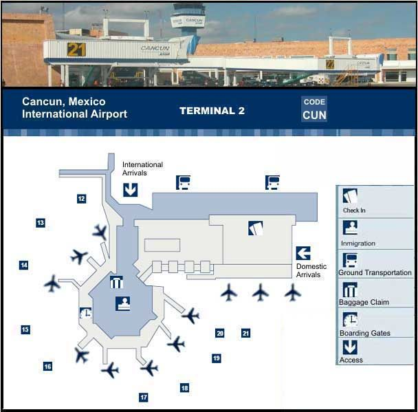cancun airport map Maya Riviera Pinterest Cancun and
