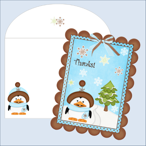 thank you cards free printables organizing homelife - Free Printables For Christmas