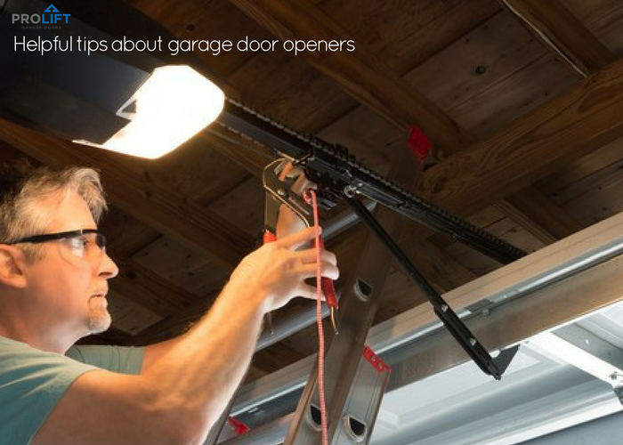Helpful Tips About Garage Door Openers By Pro Lift Doors St Louis