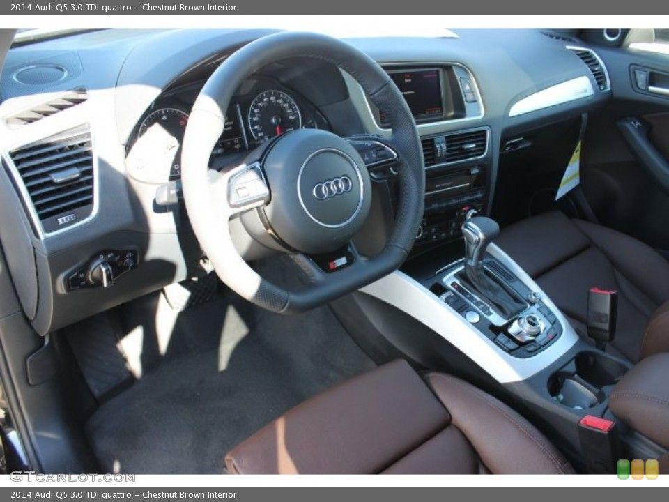Chestnut Brown Interior Prime Interior For The 2014 Audi Q5 3 0 Tdi Quattro 88899476 S8 Audi Audi Audi Q5