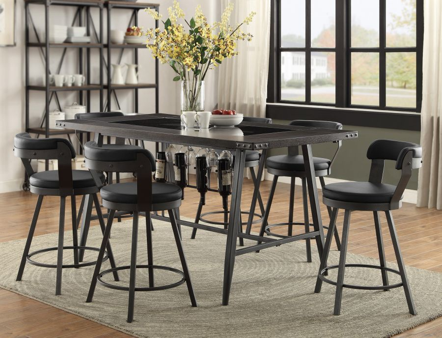 Appert Collection Dining Table By Homelegance Counter Height