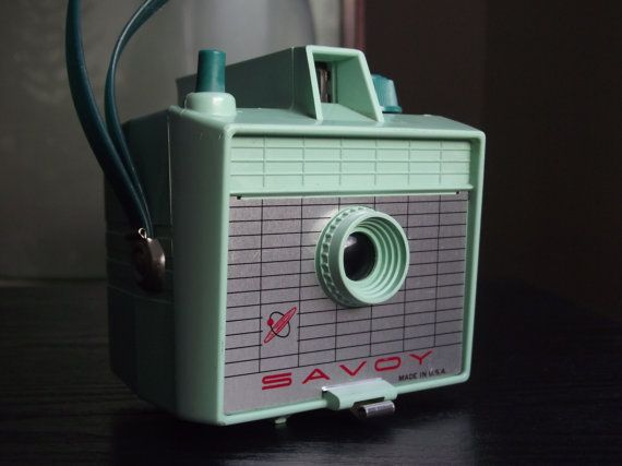 Mint Green 1960's Savoy Camera by JuniperHome on Etsy, $79.99