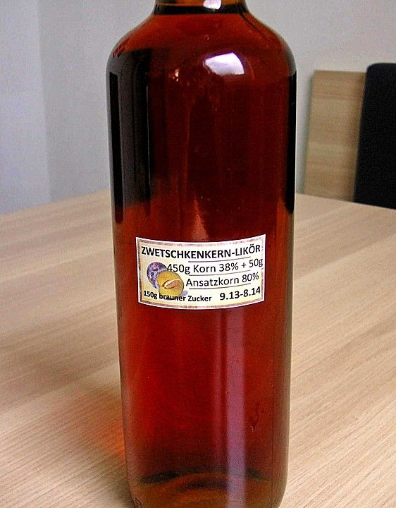 Chefkoch.de Rezept: Zwetschgenlikör
