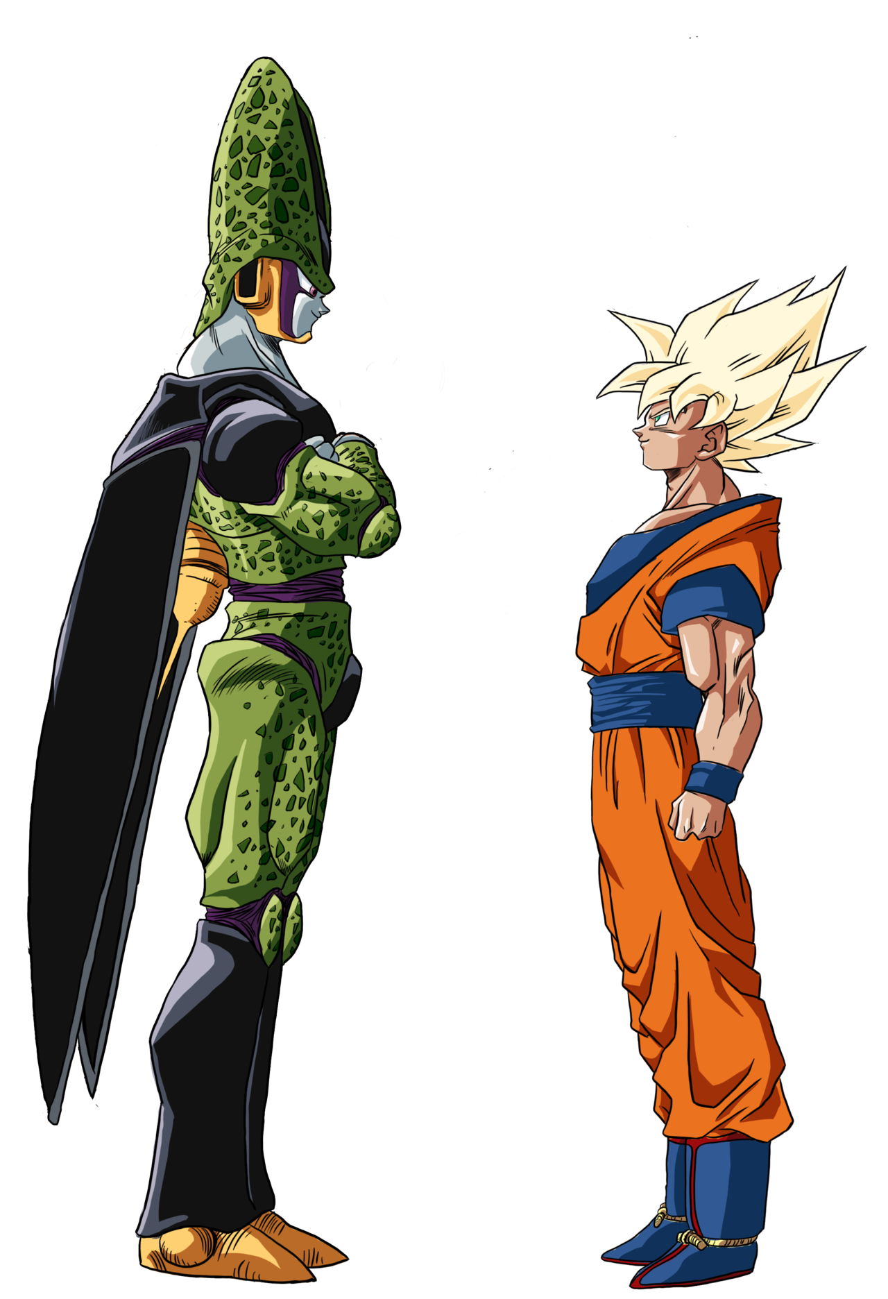 Goku Cell Color by RuokDbz98.deviantart.com on @DeviantArt ...