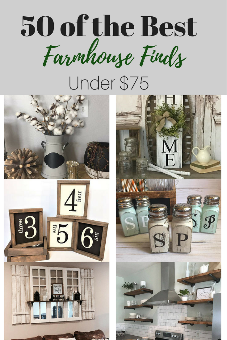Over 50 Farmhouse Finds Under 75