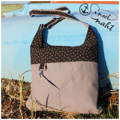 insel-naht: Eine neue Tasche und ein Tutorial | Taschen nähen ...