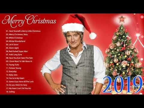2019 Christmas Music.Merry Christmas 2019 Rod Stewart Christmas Full Album