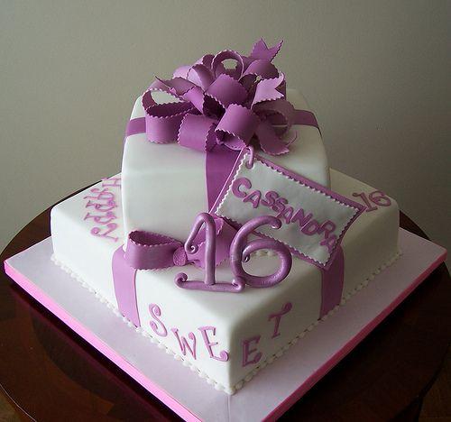 Remarkable Sweet Sixteen Cake Sweet Sixteen Cakes Sweet 16 Birthday Cake Personalised Birthday Cards Veneteletsinfo