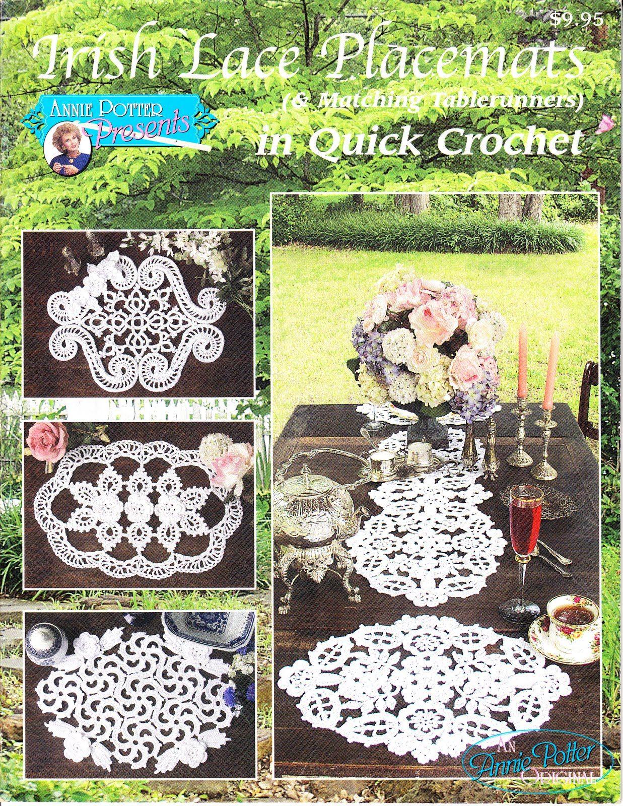 Irish lace placemats free pattern book projects apartment irish lace placemats free pattern book bankloansurffo Gallery