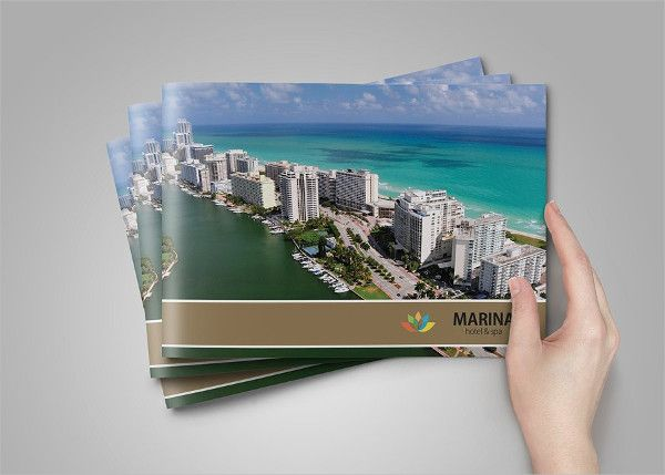 Professional Hotel Brochure Template  Hotel Brochures
