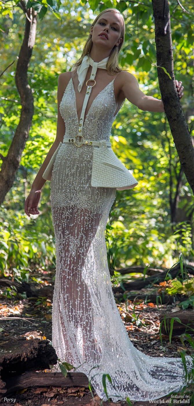 Yaniv persy fall ucinto the wildud bridal collection latest