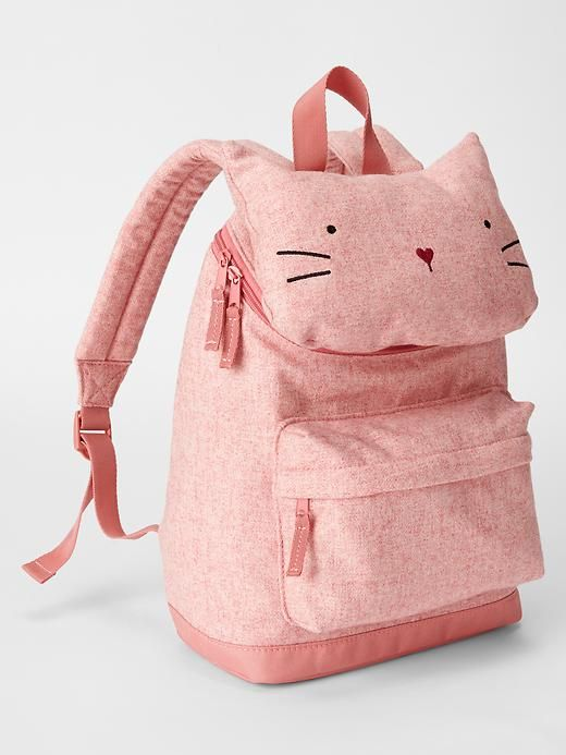 b2cc103942d ... little girl accessories from Gap. just the cutest backpack ever. Cat  backpack Preschool Backpack, Cute Bags, Backpacks For Kids, School ...