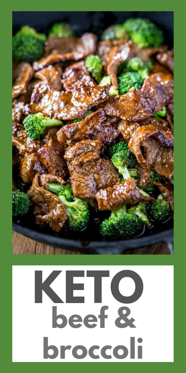 Keto Beef and Broccoli Recipe. noshtastic.com #beefandbroccoli