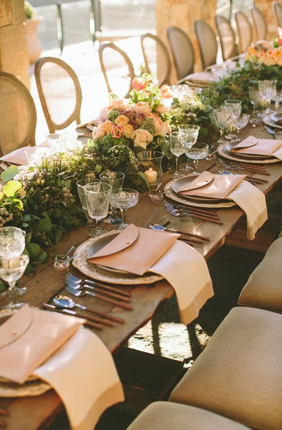 Beautiful Tuscan inspired tablescape | Wedding and Party ...