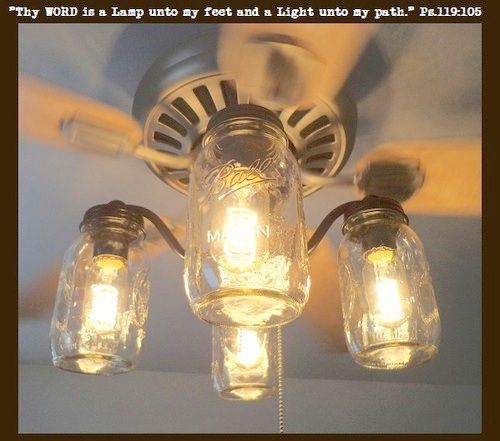 cottage mason jar chandelier. Update Your Fan With An Original Mason Jar Ceiling Light Kit You Won\u0027t See Anywhere Else! Farmhouse, Country, Cottage Or Rustic Cabin. Chandelier